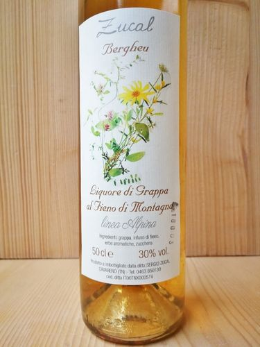 Liquore di Grappa al Fieno - 500ml - Zucal